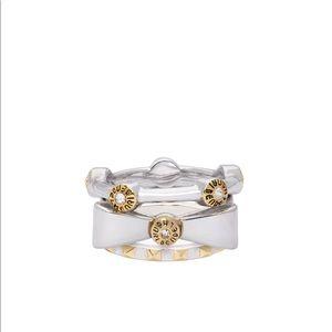 Henri Bendel Silver Stackable Ring